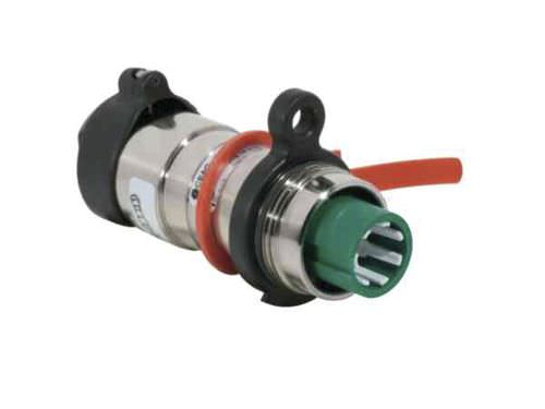 electrical power supply connector / circular / crimp / flange