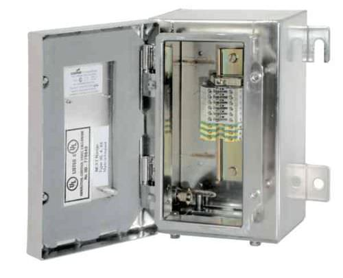 wall-mounted terminal box / explosion-proof / stainless steel