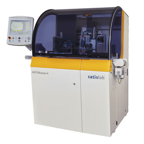 automatic ophthalmic lens blocker - Satisloh