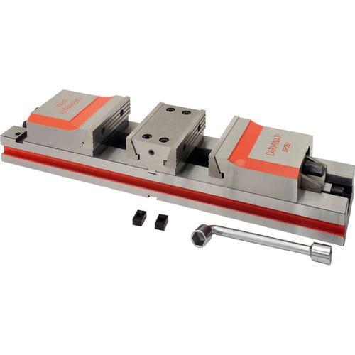 machine tool vise / low-profile / precision