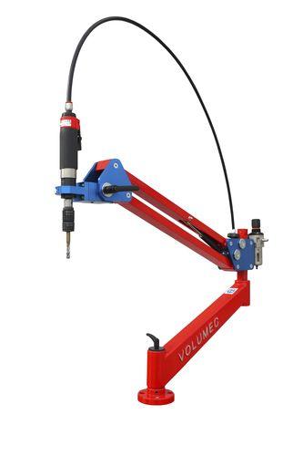 swing-arm tapping machine