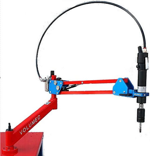 swing-arm tapping machine