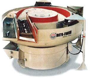 deburring vibratory finishing machine