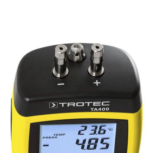 pitot tube anemometer / wireless / portable