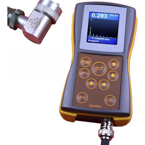 predictive maintenance vibration analyzer / for rotating-machine balancing / portable / with data logger