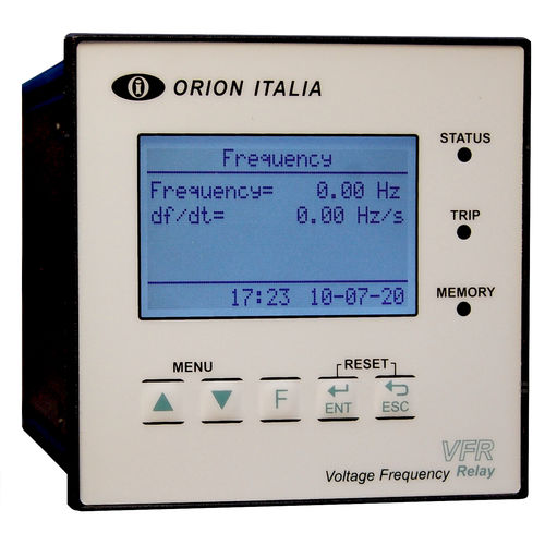 frequency protection relay