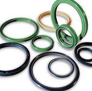 wiper seal / circular / elastomer / for pumps