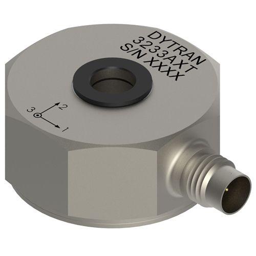triaxial accelerometer / shear / IEPE / rugged