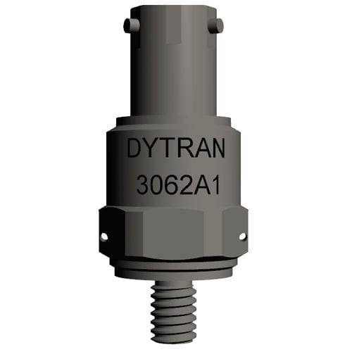 triaxial accelerometer / piezoelectric / IEPE / with built-in electronics