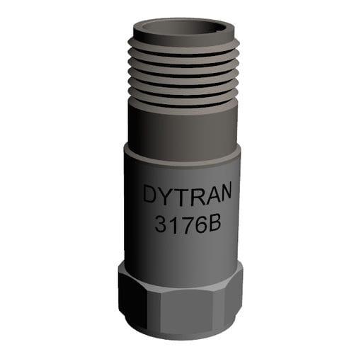 triaxial accelerometer / piezoelectric / IEPE / shear