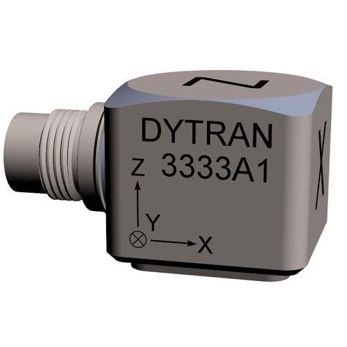 triaxial accelerometer / piezoelectric / IEPE / miniature
