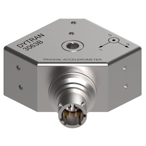 triaxial accelerometer / piezoelectric / IEPE / high-sensitivity