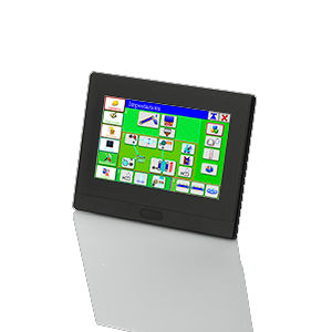 HMI with touch screen / panel-mount / 800 x 480 / RISC