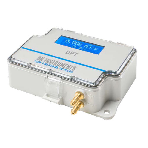 differential pressure flow meter / for air / digital / with display