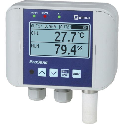 temperature controller with humidity control - SIMEX Sp. z o.o.