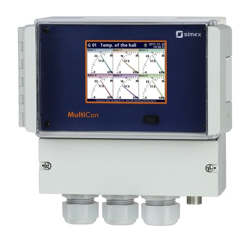 universal process controller / programmable / compact / multi-channel