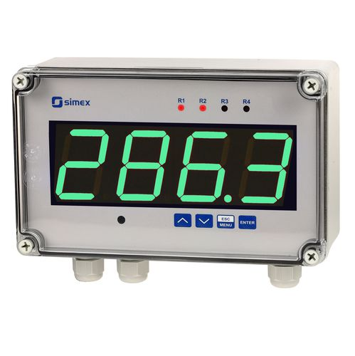 humidity indicator / process / signal level / temperature