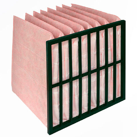 air filter bag / synthetic composite / multilayer