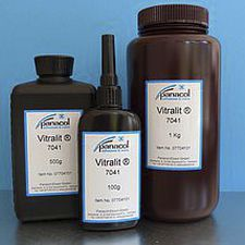 acrylate adhesive / epoxy / for printed circuit boards / single-component