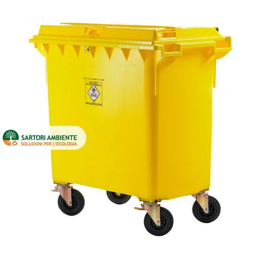 HDPE waste bin