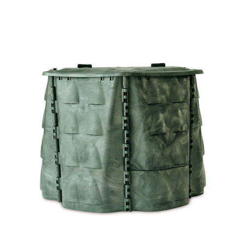 compost crate / PE / protection / with lid