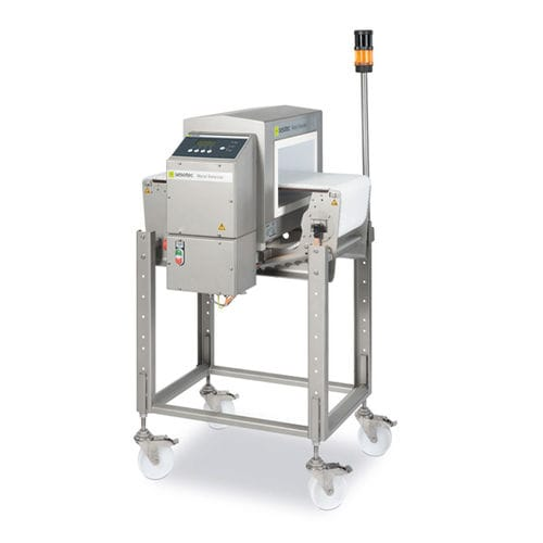 tunnel type metal detector / high-sensitivity / compact / for the food industry