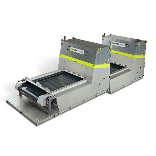 optical sorting system / color / automatic / glass