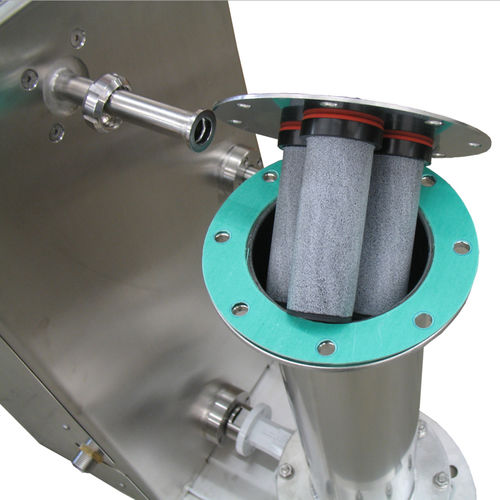 compressed air pipe / conveying / stainless steel / flexible
