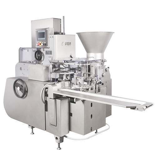 curd filling and wrapping machine
