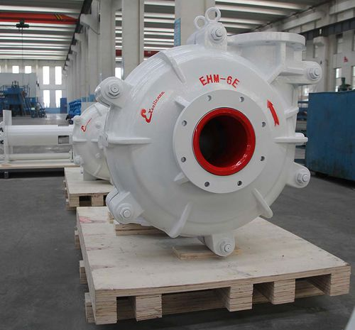 slurry pump / with electric motor / normal priming / centrifugal
