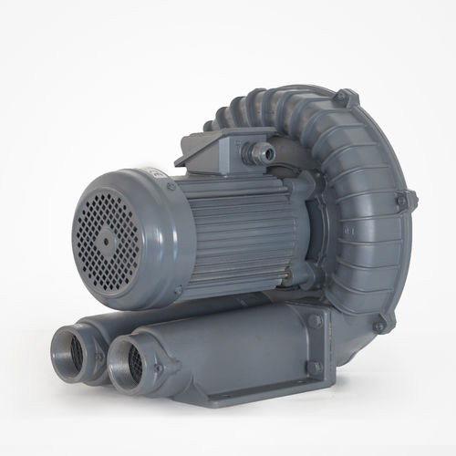 side-channel blower / air / single-stage / high-pressure