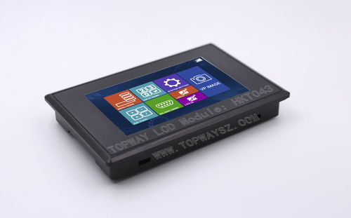 LCD/TFT display module / with touch screen / color / 480 x 272