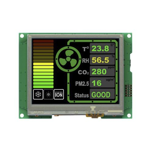 LCD/TFT display module / with touch screen / color / custom