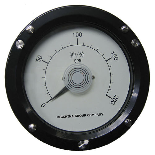 speed indicator / analog / for pumps