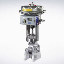 pneumatic ball valve actuator unit