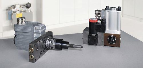 servo-driven valve