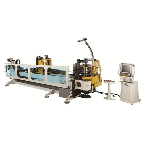 servo-electric bending machine / for tubes / CNC / draw