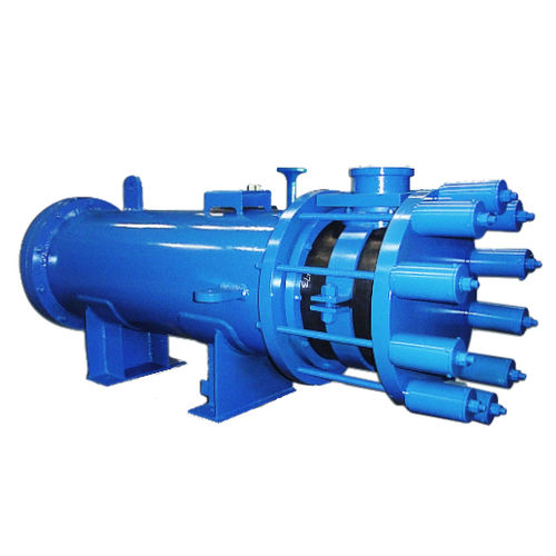 graphite block heat exchanger / liquid/liquid / gas/liquid / gas/gas