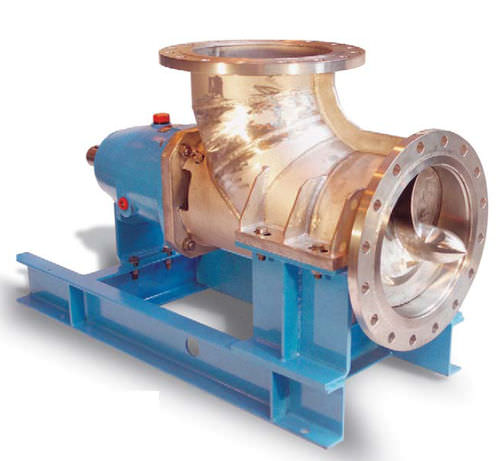 effluent pump / electric / propeller / industrial