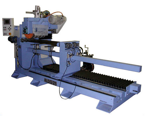 metal polishing machine / tube / for flat parts / automatic