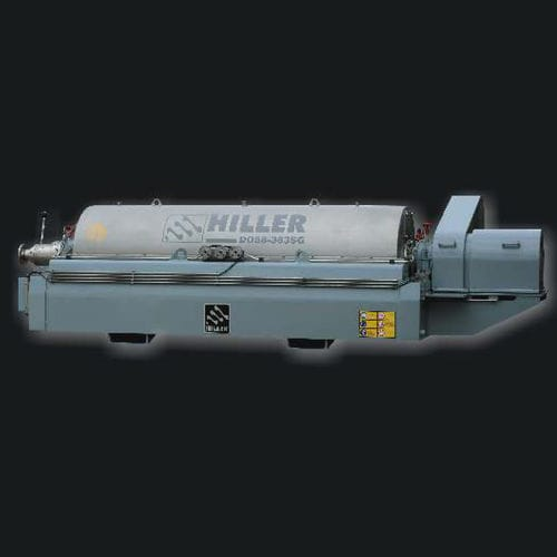 sludge dewatering decanter / centrifugal / horizontal