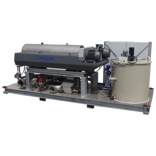 sludge dewatering decanter - Hiller GmbH