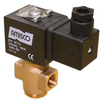 direct-operated solenoid valve / 2/2-way / NO / fuel oil