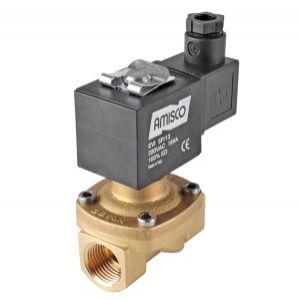 latching solenoid valve / 2/2-way / NC / water