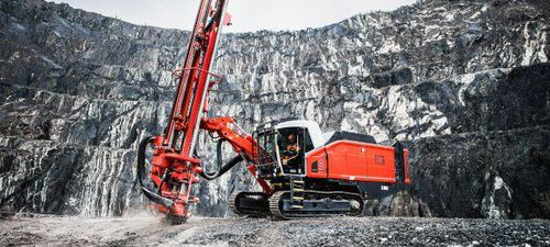 blasthole drilling rig / crawler / rotary / down-the-hole