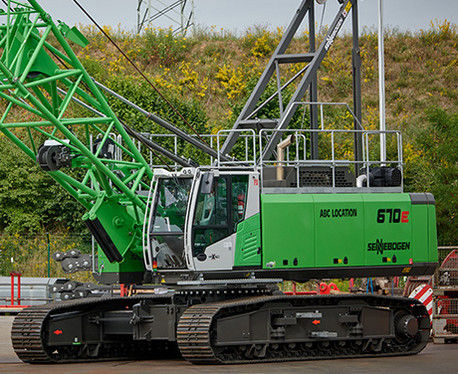 crawler crane / boom / for construction / hydraulic