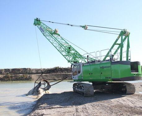 crawler crane / boom / lattice / for construction