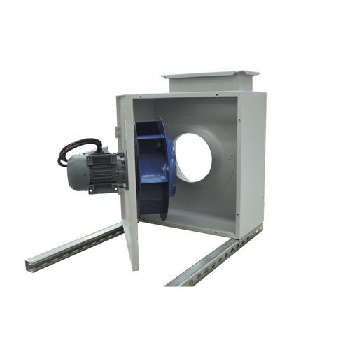 ceiling-mounted fan / radial / exhaust / direct-drive