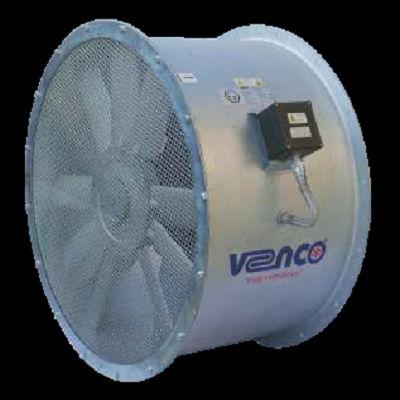 axial fan / exhaust / ventilation / direct-drive