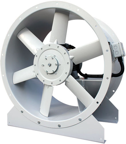 roof-mounted fan